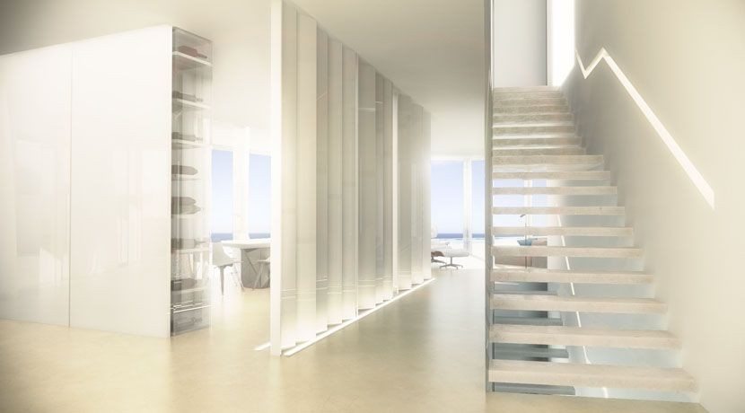 one_off_villa_frontline_sea_new_build_javea_alicante_escalera