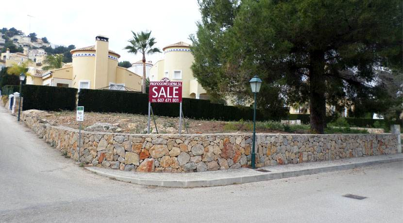 Parcela urbana Residencial La Sella Golf, Denia